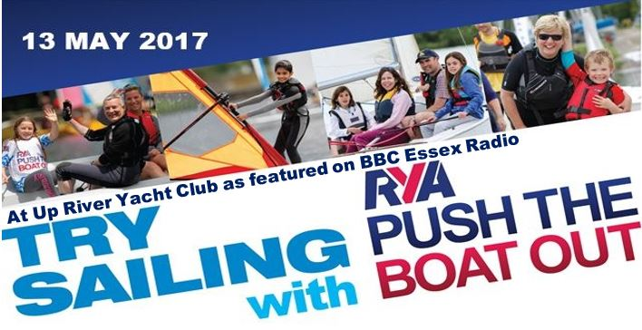 Push the boat out with Up River Yacht Club as featured on BBC Essex radio