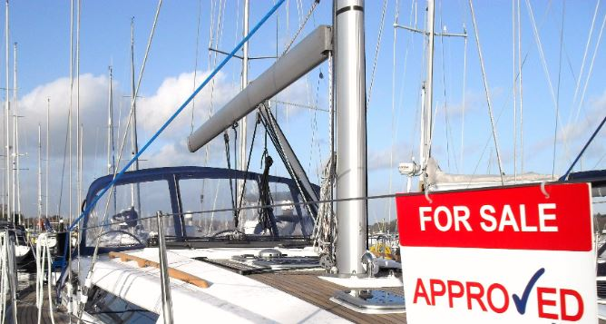Yachts for sale at up River Yacht Club